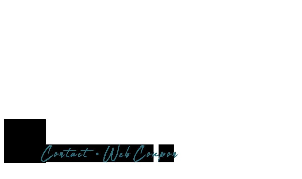 CONTACT / WEB COUPON